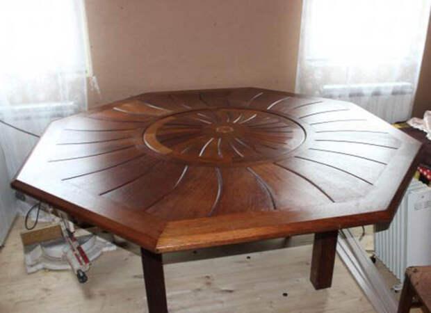 Стол из массива дерева: частичка природы удивительной красоты в интерьере (82 фото)