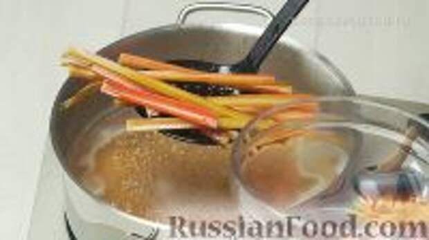 Фото приготовления рецепта: Ботвинья - шаг №12