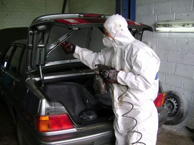 Мовиль для авто с преобразователем ржавчины