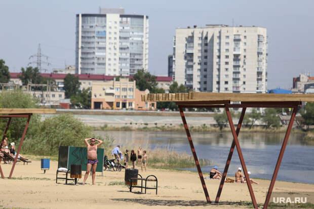 Власти немогут открыть курганские пляжи из-за аномальной жары