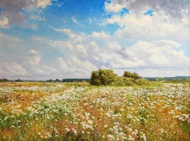 Красивые картины с завораживающими пейзажами