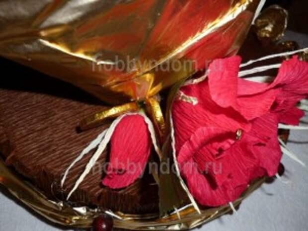 рог изобилия из конфет (9)