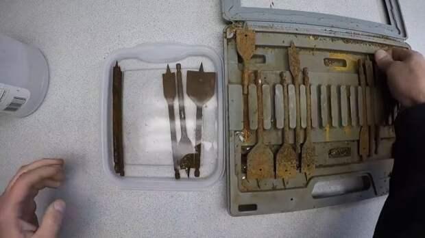 Элементарный способ восстановить заржавевший инструмент которым давно не пользовались