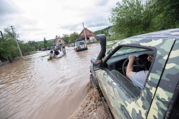 Наводнение в Ивано-Франковске