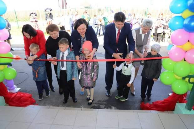 Новый детский сад открыли в Мальте Усольского района