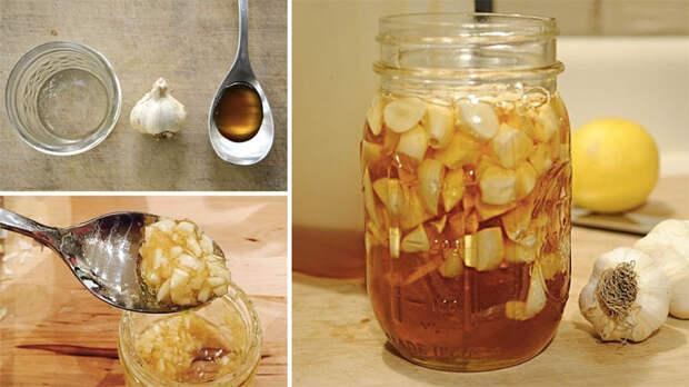 Что будет с телом если есть чеснок с медом