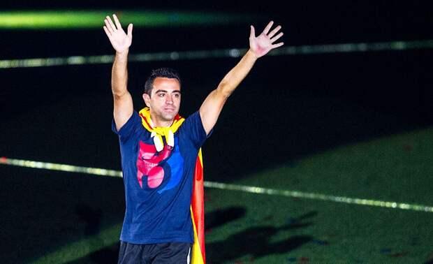 Хави: «Все видят во мне тренера «Барселоны»