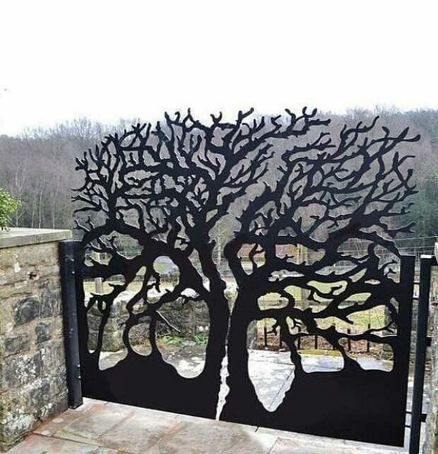 Подборка необычных ворот