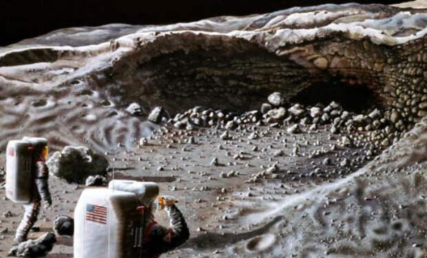 На Луне нашли огромную пещеру: никто не знает куда она ведет