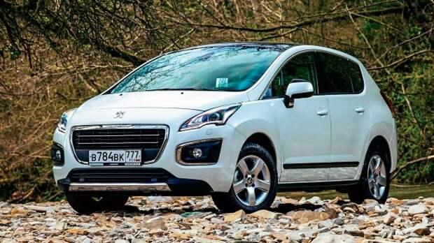 Peugeot 3008: хром среди ясного неба
