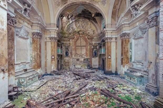 Заброшенные церквушки Италии