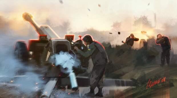 ВСУ нанесли массированный артиллерийский удар по Горловке