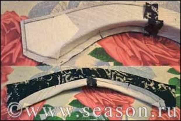 формовка воротника мужского пиджака