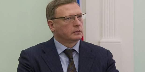 Глава Омской области уйдет на самоизоляцию