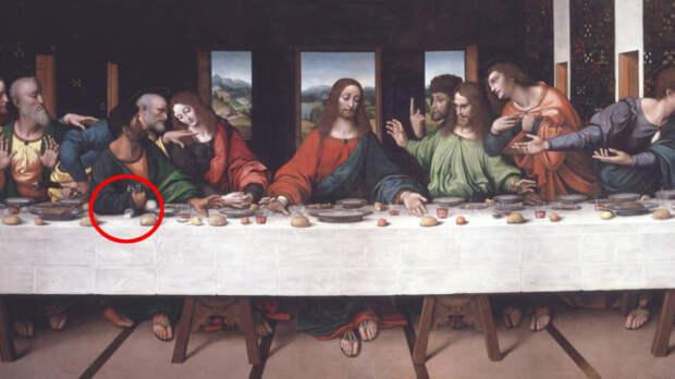 Копия фрески авторства итальянского художника Джампетрино. \ Фото: klikk.no.