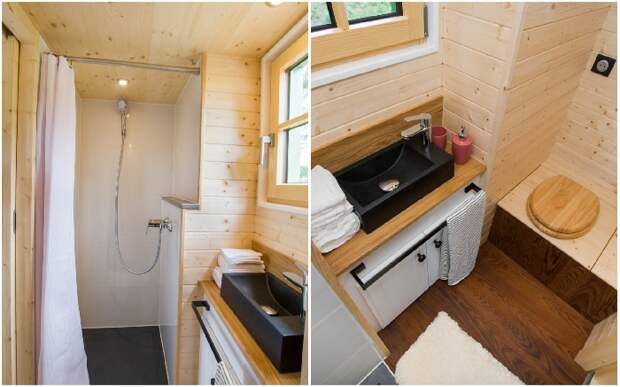 Миниатюрный домик длиной всего 6 метров, в котором можно жить со всеми с удобствами