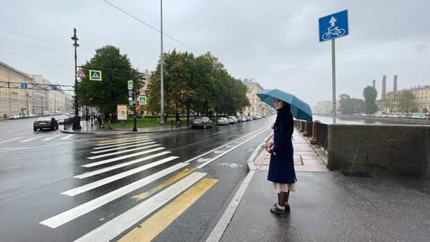 Дождливая погода ожидается в Петербурге 21 октября
