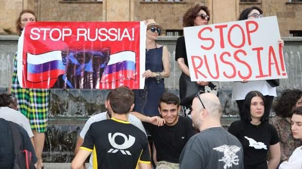Украина отчаянно спасает тонущую Грузию - в чем причина?