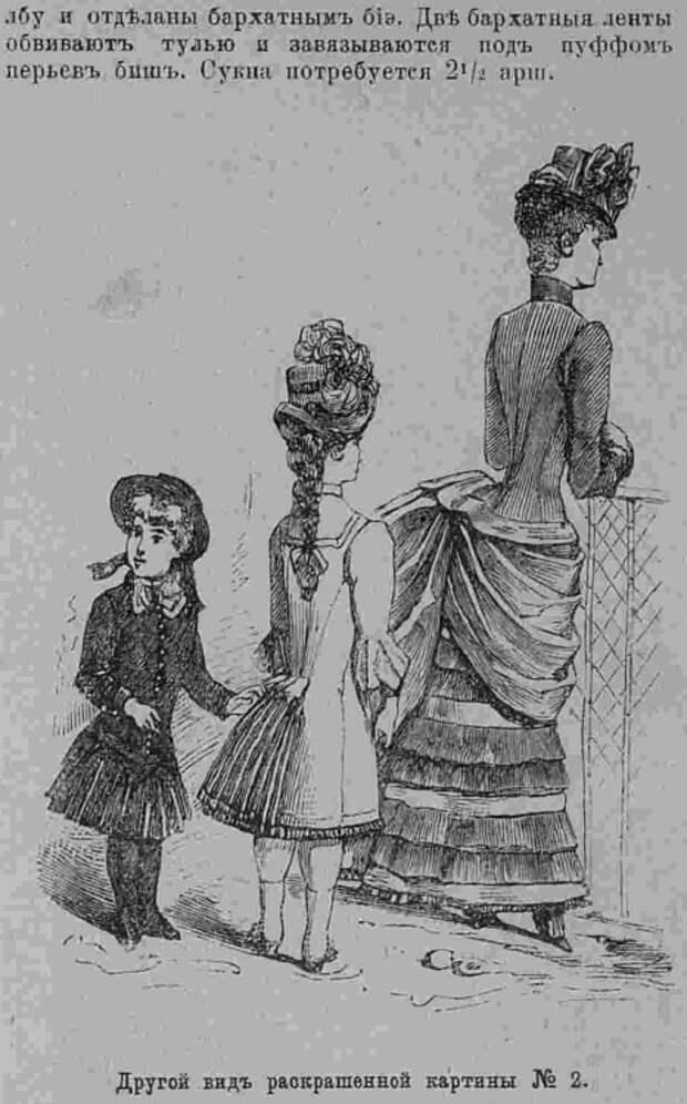 Последний крик моды. Наряды из Парижа. 1885 г. Часть 2-1