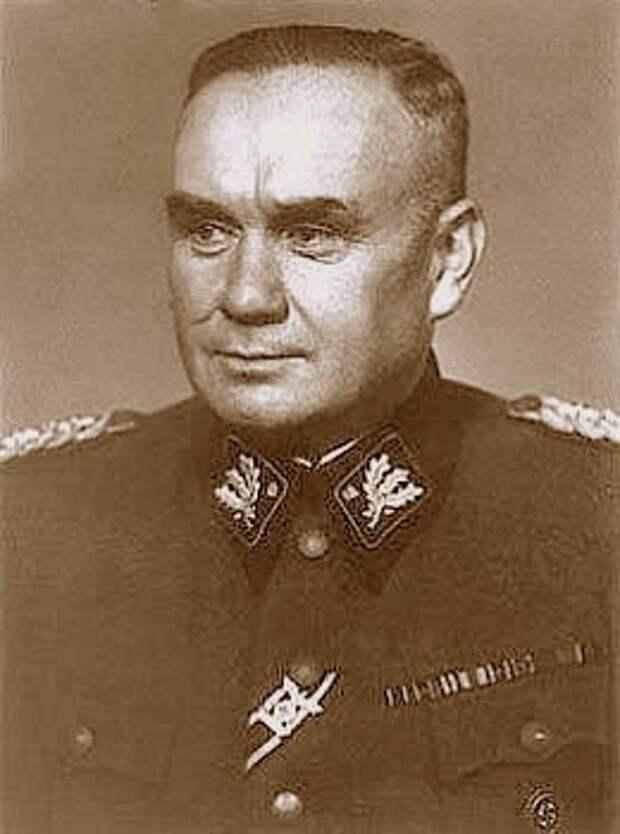 Обергруппенфюрер СС Фридрих Еккельн