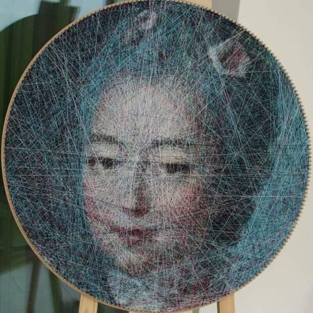 Франсуа-Юбер Друэ искусство, красиво, креатив, нити, программирование, рисунки, творчество, художники