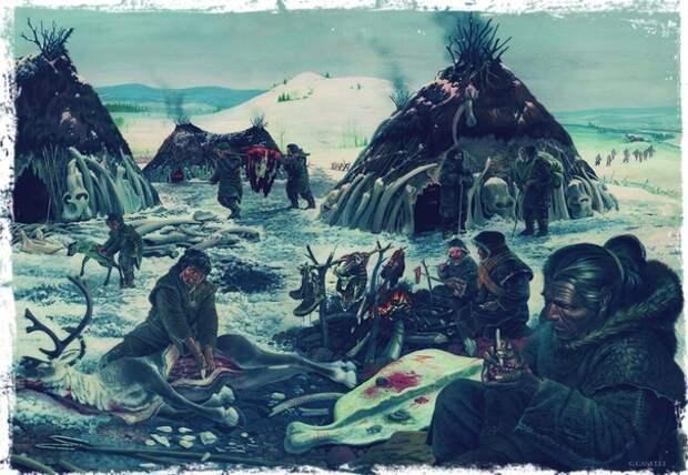 Заселение Северной Евразии Сергей Васильев в «Родине слонов»