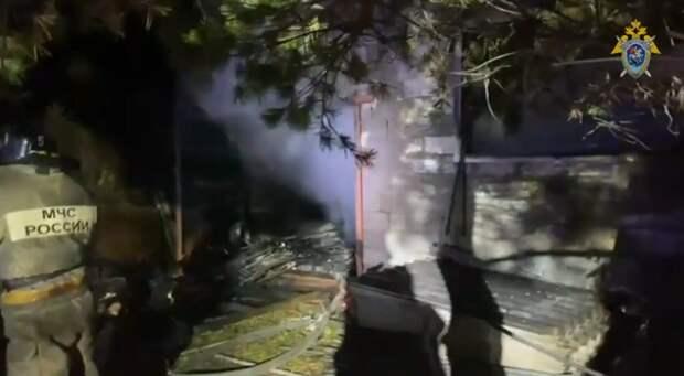 Тела троих детей обнаружены на месте пожара в доме под Новокузнецком