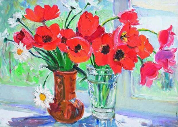 Тюльпаны», 1989 (700x500, 469Kb)