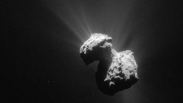 Комета Чурюмова-Герасименко посылает в космос радиосигналы