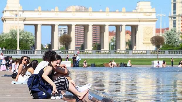 Синоптик спрогнозировал повышение температуры в Москве на выходных