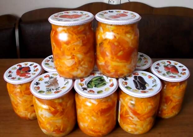 помидоры с болгарским перцем рецепт