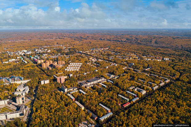Новосибирский Академгородок – город учёных посреди сибирской тайги - 3 часть