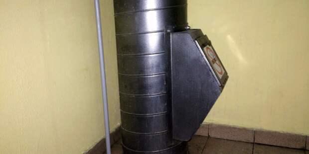 В доме на Стрелецкой привели в порядок мусоропровод