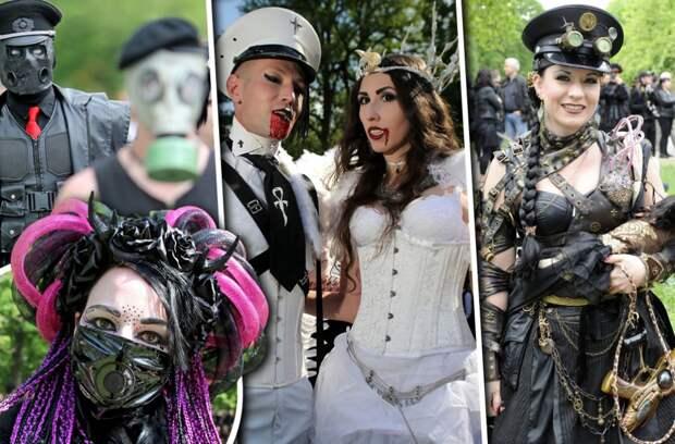 Секс на крови: фестиваль готов и вампиров Wave Gotik Treffen изнутри