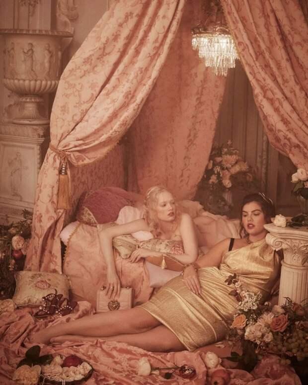 5 бодипозитивных фото из рекламы Dolce&Gabbana в стиле картин Рубенса