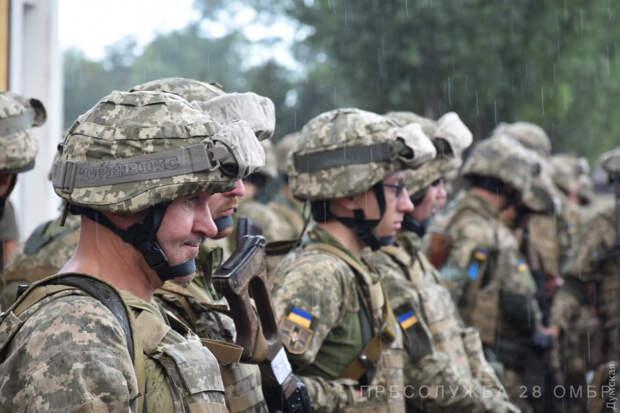На маневрах НАТО почетная роль русских поручена военным с Украины