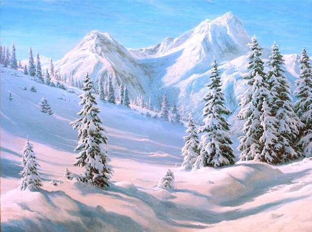 Чарующие пейзажи художника Басова Сергея