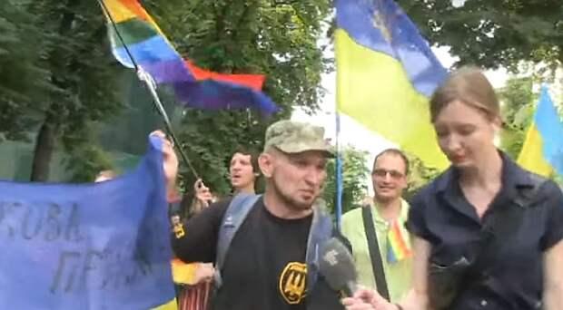 Украинские гомо-десантники На Украине хотят создать ветеранскую организацию АТО-шников из представителей ЛГБТ !
