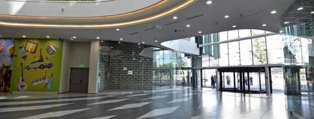 Завершен первый этап реконструкции торгового комплекса на проспекте Мира