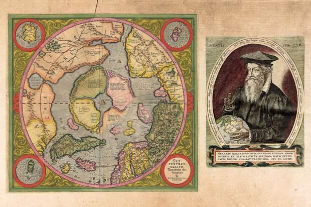 Герард Меркатор и его карта.