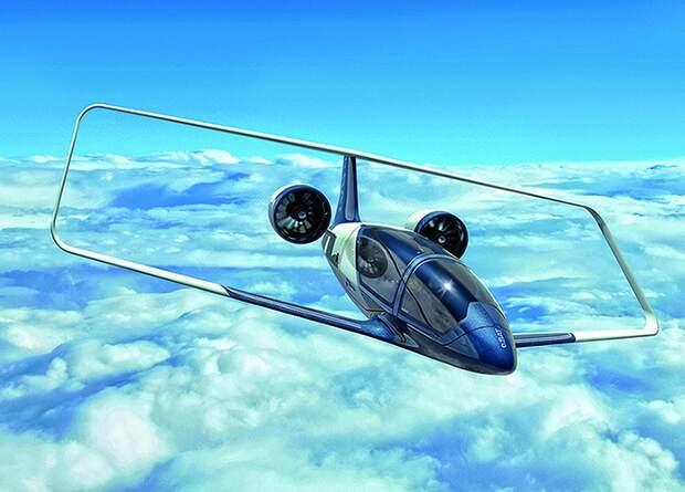 Первый полет тихого аэротакси с замкнутым контуром крыла намечен на 2022 год