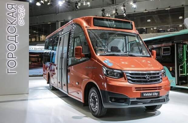 «Группа ГАЗ» представляет городской автобус «Валдай City»