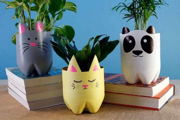 коты-вазочки