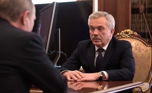 С поста губернатора Белгородской области досрочно ушел Евгений Савченко