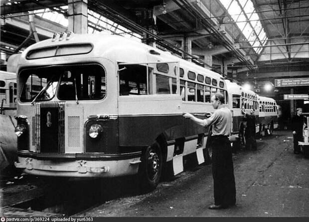 ЗИС-154 автобусы, транспорт, это интересно