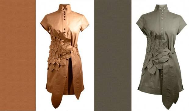 Интересные детальки у рубашек (подборка)