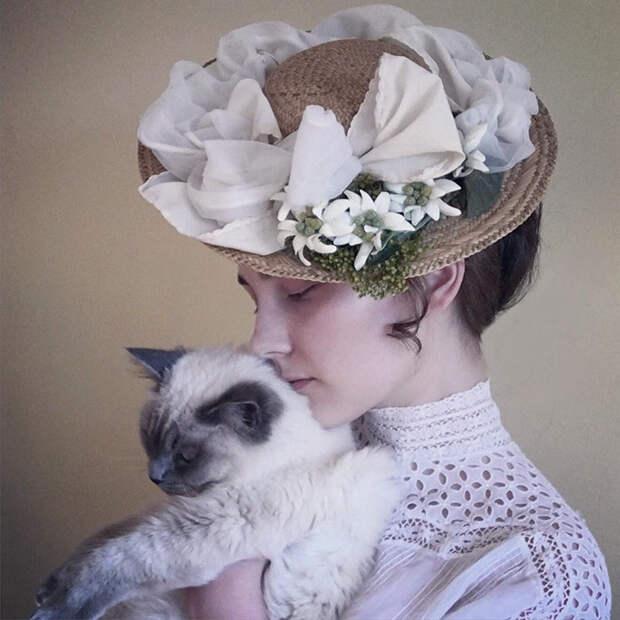 1900-е девушка, перевоплощение