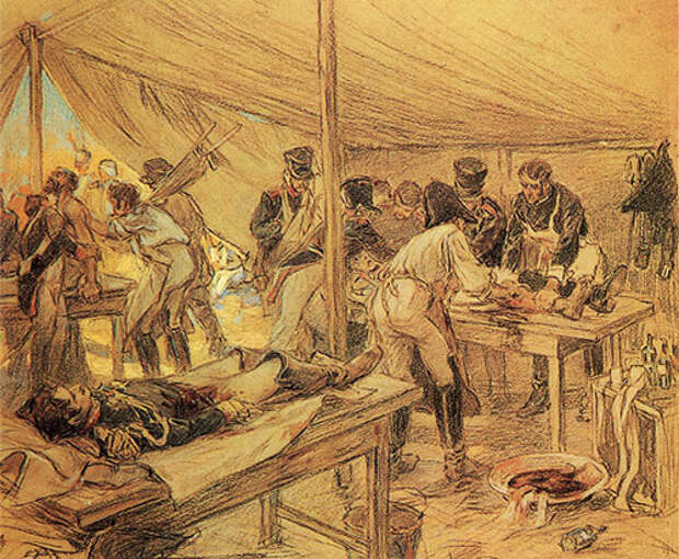 Как проводили ампутации в армии Наполеона