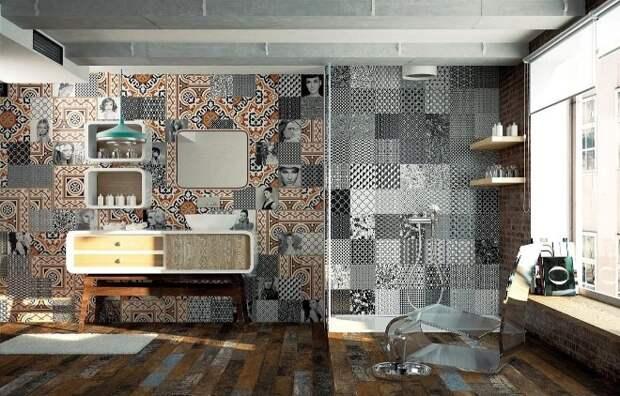 Современные новинки плитки для оригинального дизайна (94 фото)
