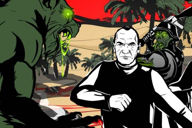 Пользователи Сети в восторге от российского комикса «Вагнер»